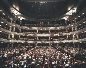 Dreyfoos Hall audience