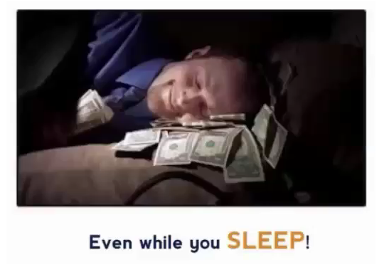 even whilst you sleep!