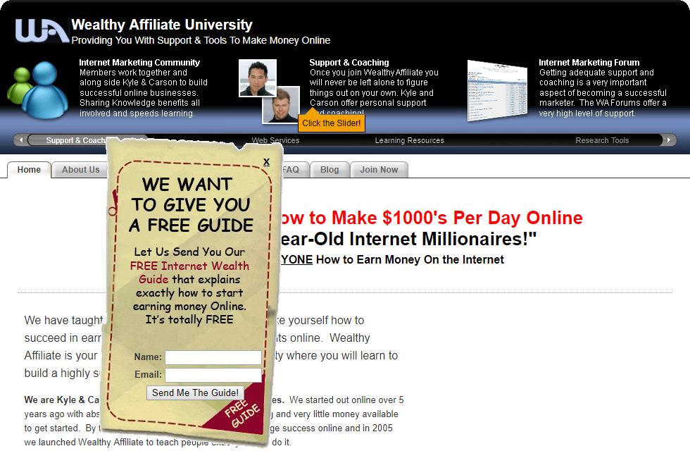 My Experience at Wealthy Affiliate
