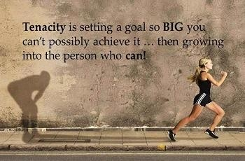 You Will Need Tenacity!