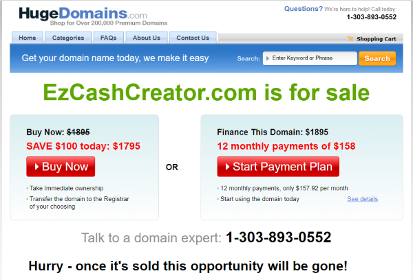 Can You Tell if You Are Being Scammed? - Website Is Gone!