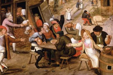 Peasants with Atrocious Table Manners in the 16th Century